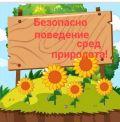 """""""Безопасно поведение сред природата"""" - ДГ Райна Княгиня - Стамболийски"""